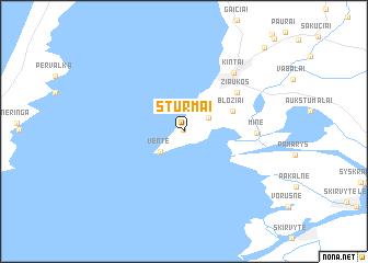 map of Sturmai