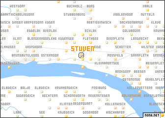 map of Stuven