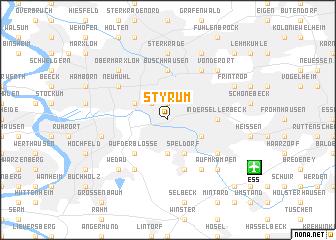 map of Styrum