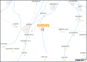 map of Suadag