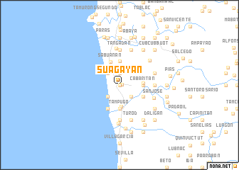 map of Suagayan