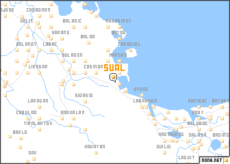 Sual Philippines map nonanet