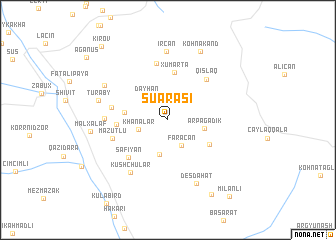 map of Suarası