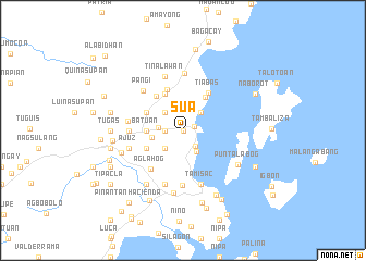 map of Sua