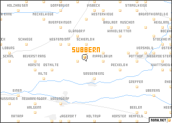 map of Subbern