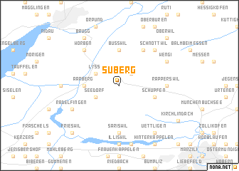 map of Suberg