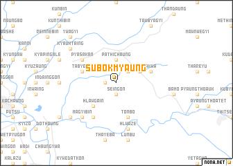 map of Subokmyaung