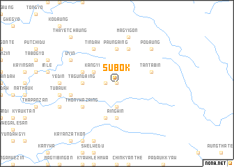 map of Subok