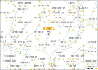 map of Subol