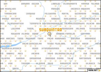 map of Sub-Quintão