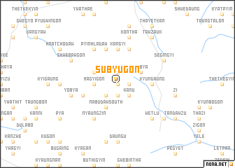 map of Subyugon