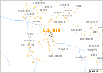 map of Suchuta