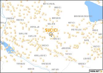 map of Sučići