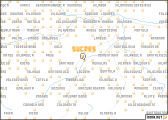 map of Sucres