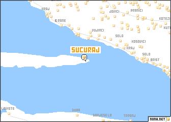 map of Sućuraj