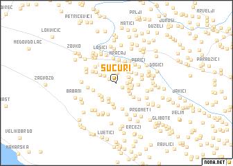 map of Šućuri