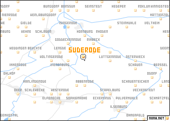 map of Suderode