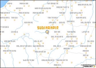 map of Sudimampir