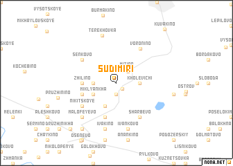 map of Sudimiri