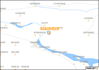 map of Sudimirka