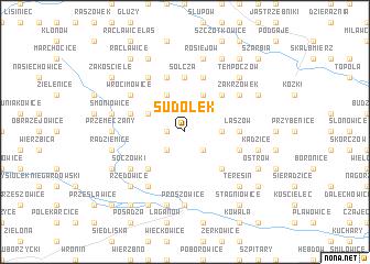 map of Sudołek