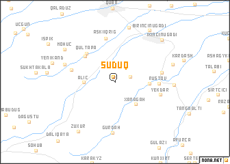 map of Şuduq