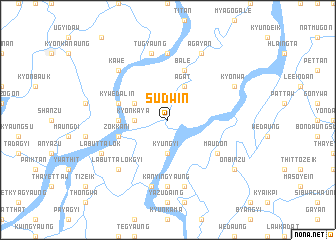map of Sudwin