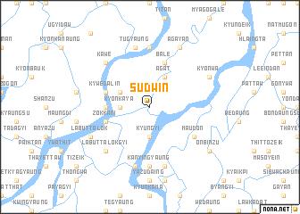 map of Sudwin