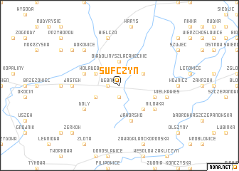 map of Sufczyn