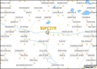 map of Sufczyn