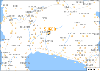 map of Sugod