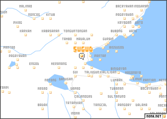 map of Sugud