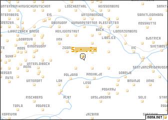 map of Suhi Vrh