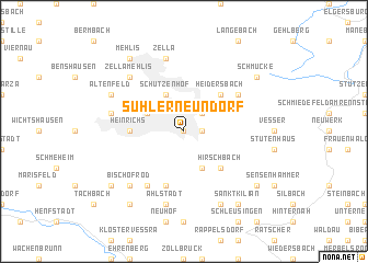 map of Suhler Neundorf