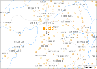 map of Suizo