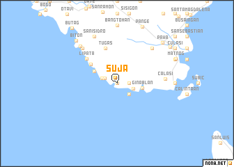 map of Suja