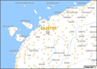 map of Sujoton