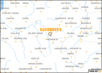 map of Sukabares