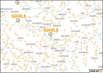 map of Šukale