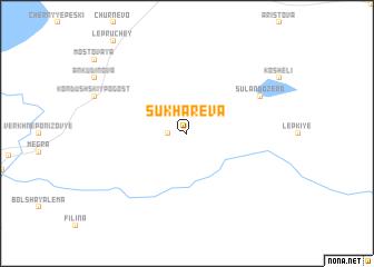 map of Sukharëva