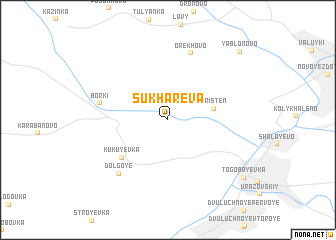 map of Sukharëva