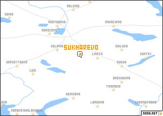 map of Sukharëvo