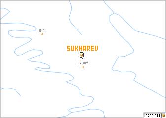 map of Sukharev
