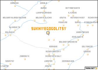 map of Sukhiye Gogolitsy