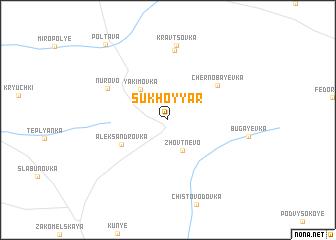 map of Sukhoy Yar