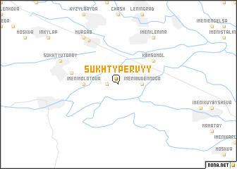map of Sukhty Pervyy