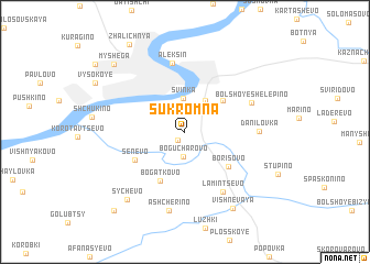 map of Sukromna