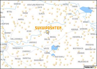 map of Suku i Poshtëm