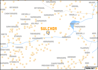map of Sulchŏm