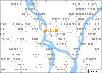 map of Sulegon